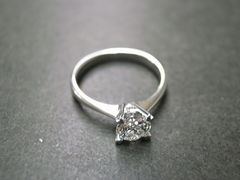 0.60ct Engagement Diamond Ring - product images 4 of 5
