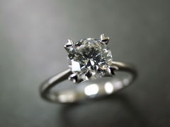 0.60ct Engagement Diamond Ring - product images 1 of 5