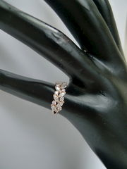 Marquise Diamond Wedding Ring - product images 9 of 12