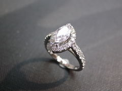 Marquise Diamond Engagement Ring - product images 2 of 6