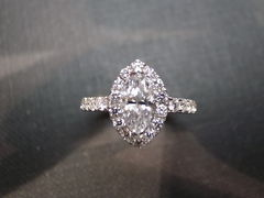 Marquise Diamond Engagement Ring - product images 4 of 6
