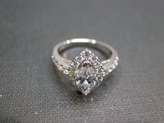 Marquise Diamond Engagement Ring - product images 5 of 6