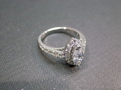 Marquise Diamond Engagement Ring - product images 6 of 6
