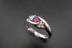 Diamonds Ring with Ruby - product images 2 of 7