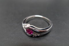 Diamonds Ring with Ruby - product images 7 of 7
