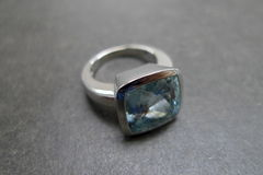Aquamarine Wedding Ring - product images 5 of 5