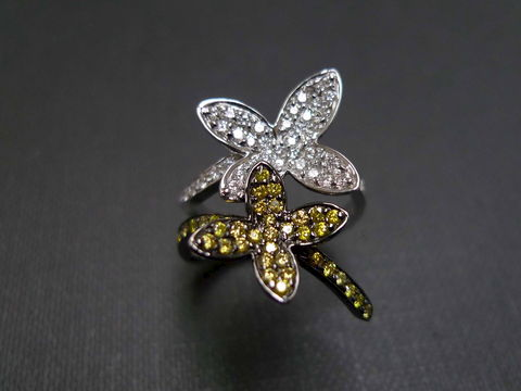 Diamond,Butterfly,Ring,Jewelry  Ring  butterfly  flower  diamond  wedding  engagement  anniversary  fancy yellow diamond engagement  yellow sapphire ring  diamond wedding ring  wedding diamond ring  sapphire wedding diamond ring