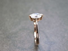 Marquise Diamond Engagement Ring - product images 5 of 9