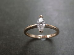 Marquise Diamond Engagement Ring - product images 8 of 9