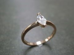 Marquise Diamond Engagement Ring - product images 9 of 9