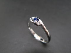 Classic Blue Sapphire Engagement Ring - product images 5 of 11
