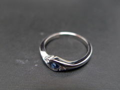 Classic Blue Sapphire Engagement Ring - product images 8 of 11