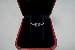 Classic Blue Sapphire Engagement Ring - product images 11 of 11