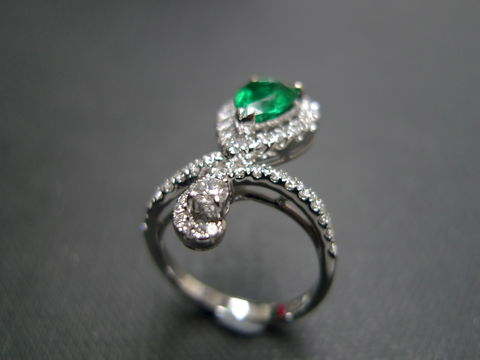 Diamond,&,Emerald,Ring,Jewelry  Ring  diamond band  wedding band ring  anniversary gift  engagement ring  fine fashion jewelry classic ring  marquise shape  diamond wedding ring  wedding diamond ring  engagement diamond emerald ring  green jewerlry  emerald jewelry