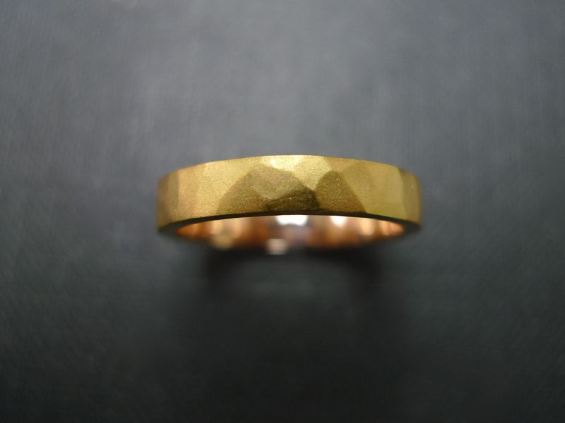 Hammered Wedding Ring  - product images  of