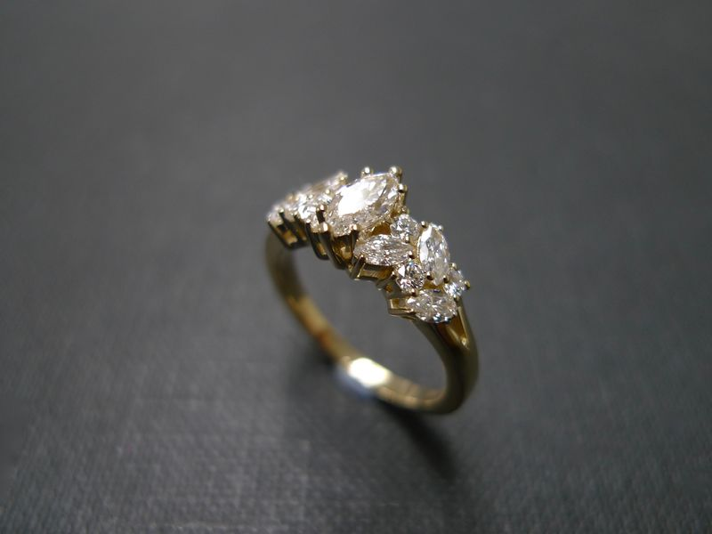 0.30ct Marquise Diamond Ring - product images  of