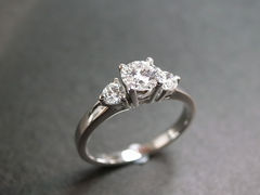 Three Stone Diamond Ring - product images 1 of 4