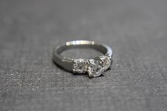Three Stone Diamond Ring - product images 4 of 4