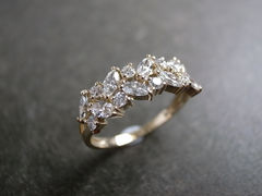 Marquise Diamond Wedding Ring - product images 3 of 12