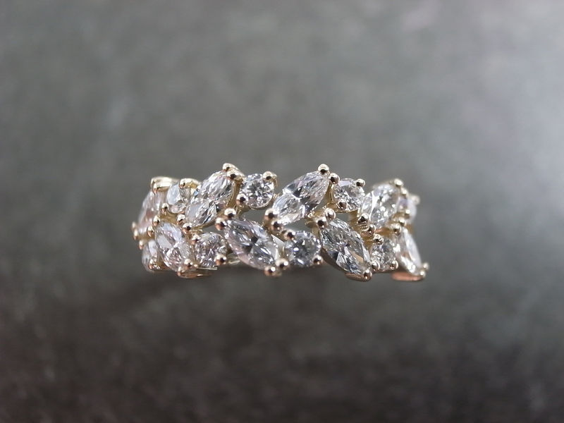Marquise Diamond Wedding Ring - product images  of