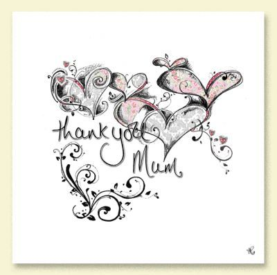 Hand,Finished,Mum,Wedding,Thank,You,Card,buy mum thank you card online, mum wedding thank you card, wedding thank you card for mum, wedding party thank you cards, wedding thank you cards, wedding thank you cards for parents, wedding thank you cards for parent, wedding thank you cards for mum and