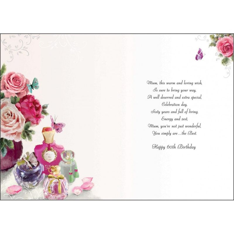 Mum 60th birthday card karenza paperie mum 60th birthday card product images of bookmarktalkfo Choice Image