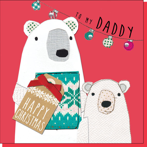 To my daddy christmas card karenza paperie for What to buy your dad for christmas