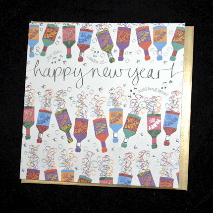 Party,Poppers,Happy,New,Year,Card,buy happy new year cards online, buy cards for new years, new years eve cards, cards for new years eve, happy new years eve cards, for auld lang syne new year card, hogmanay cards