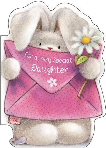 For,A,Very,Special,Daughter,Birthday,Card,buy daughter birthday card online, birthday cards for daughters, cute daughter birthday card, birthday cards for daughter, bebunni daughter birthday card, daughter birthday cards with bunni, bunny rabbit, bebunni