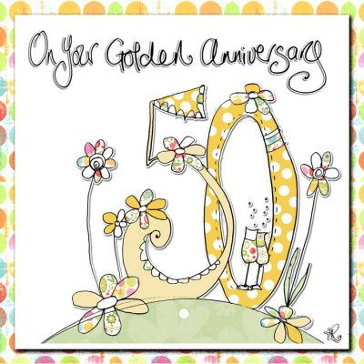 Hand,Finished,50th,Wedding,Anniversary,Card,buy 50th wedding anniversary cards, buy golden anniversary card online, gold anniversary card, fiftieth wedding anniversary card, buy cards for wedding anniversaries,