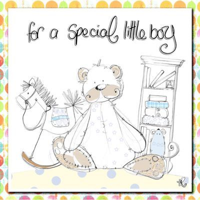 Special Little Boy Birthday Card Karenza Paperie