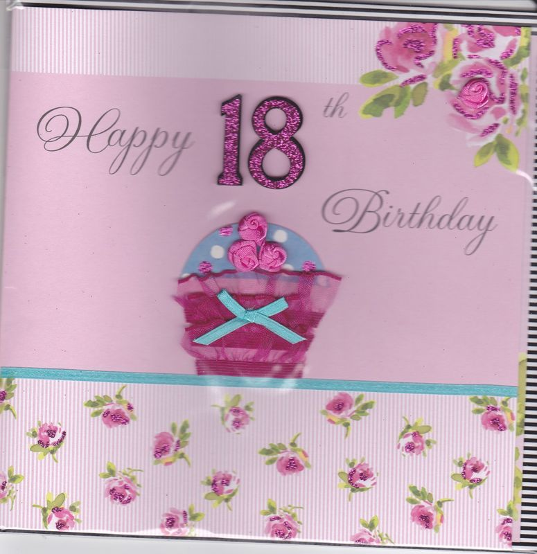 Birthday Cards Ages 18100 Collection Karenza Paperie – Handmade 18th Birthday Card