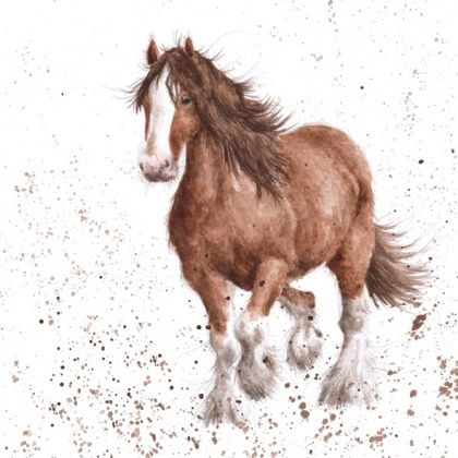 Gentle giant horse blank greetings card karenza paperie gentle giant horse blank greetings card product images bookmarktalkfo Images