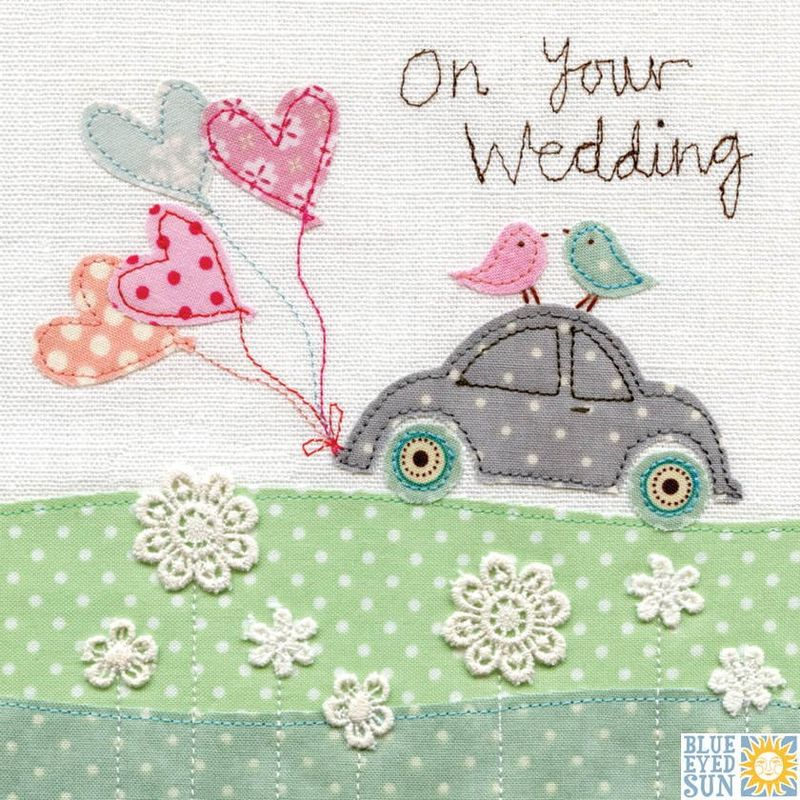 Wedding Car On Your Wedding Day Card Karenza Paperie