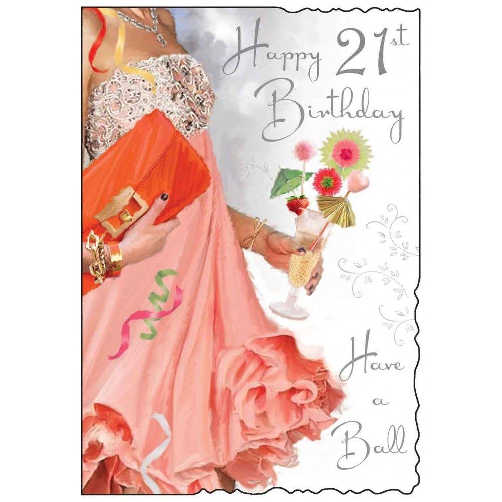 21St Birthday Card gangcraftnet – Twenty First Birthday Cards