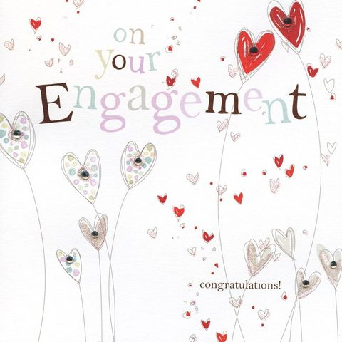 Hand,Finished,Hearts,Engagement,Card,buy engagement card online, buy heart engagement card online, buy engagement cards online, buy cards for engagements, you are engaged card, cards for engagements, on your engagement card, engagement cards, lovehearts engagement card, heart engaged card, h