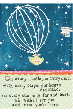 Wished,For,You,New,Baby,Card,-,Curly,Girl,Design,buy wished for you new baby card online, buy curly girl designs card online, curly girl cards UK, buy new baby cards, buy cards for new babies, new baby boy card, new baby girl card, adoption card, cards for new baby, stars new baby card,