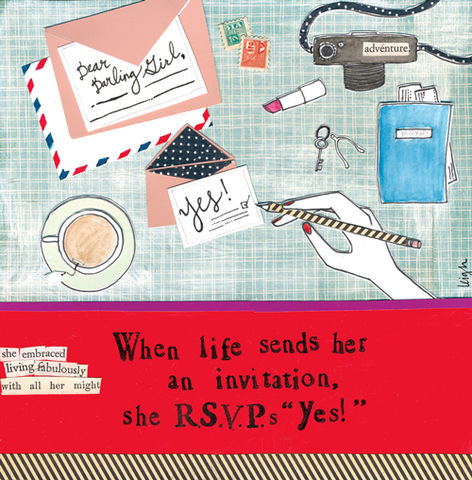RSVP,Acceptance,Greetings,Card,-,Curly,Girl,Design,buy acceptance greetings cards online, buy curly girl designs card online, curly girl cards UK, buy blank greetings cards online, card for warm wishes, warm wishes cards, RSVP card, invitations card, letters card, camera card