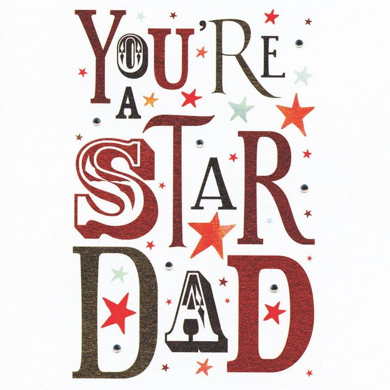 you re a star dad card karenza paperie