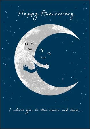 I love you to the moon and back happy anniversary card karenza paperie i love you to the moon and back happy anniversary card product images m4hsunfo