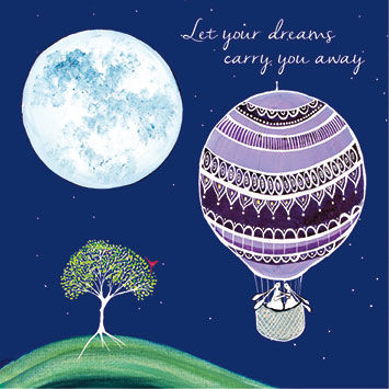 Let,Your,Dreams,Carry,You,Away,Card,buy may all your wishes come true card online, buy rabbit cards online, buy let your dreams carry you away card online, card for warm wishes, card with rabbits, card with hot air balloon, love card, leaving card, friendship card, engagement card, wedding