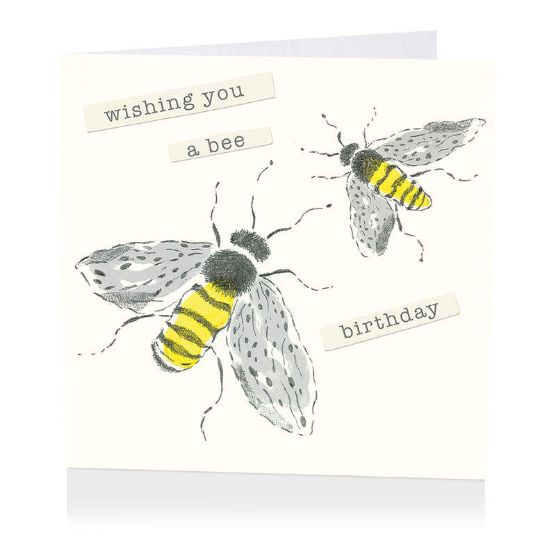 Bees birthday card karenza paperie bookmarktalkfo Choice Image