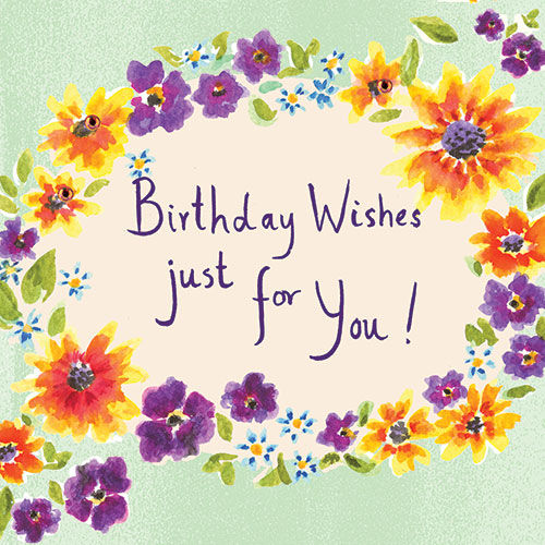 Birthday Wishes Birthday Card Karenza Paperie