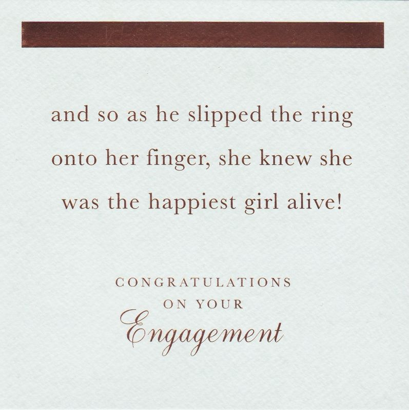 Happiest Girl Alive Congratulations On Your Engagement Card
