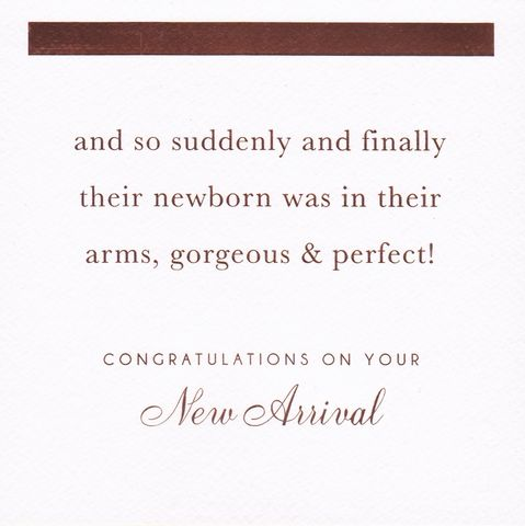 Gorgeous,&,Perfect,Congratulations,On,Your,New,Arrival,Card,-,Baby,buy contemporary new baby cards online, buy new baby cards online, buy unisex new baby cards online, baby boy card, baby girl card, newborn baby card, welcome to the world new baby card, new arrival card, congratulations on your new arrival new baby card