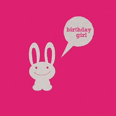 Birthday,Girl,Card,buy birthday girl birthday cards online, buy cards for the birthday girl online, birthday cards for her, female birthday cards, girls birthday card, rabbit birthday cards