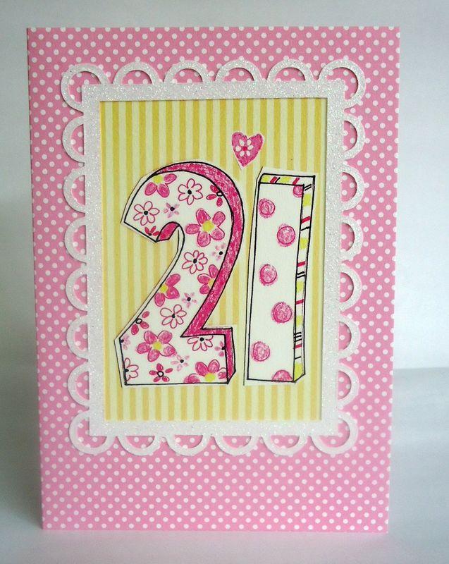 Dotty 21st Birthday Card