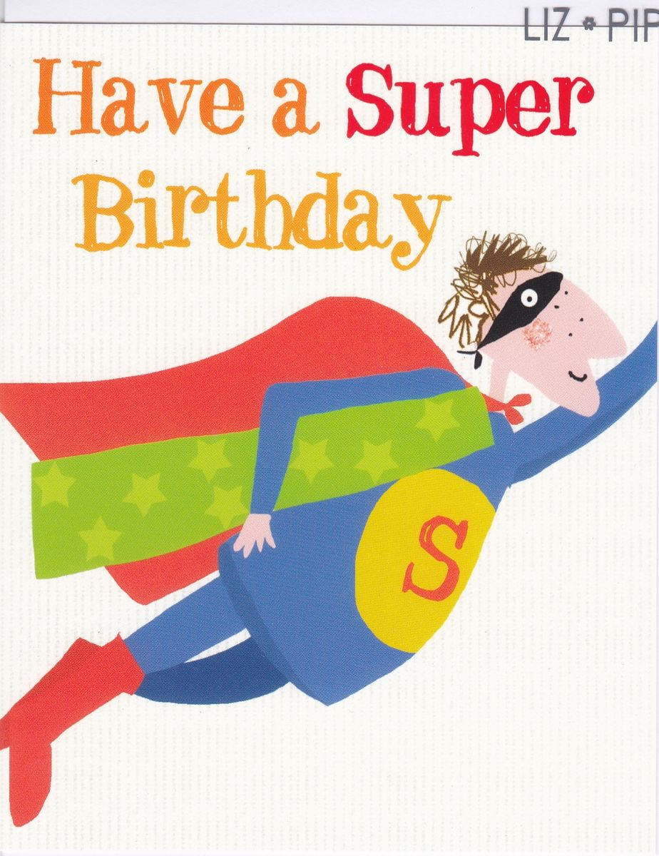 Superman Birthday Card Karenza Paperie – Where Can I Buy Birthday Cards