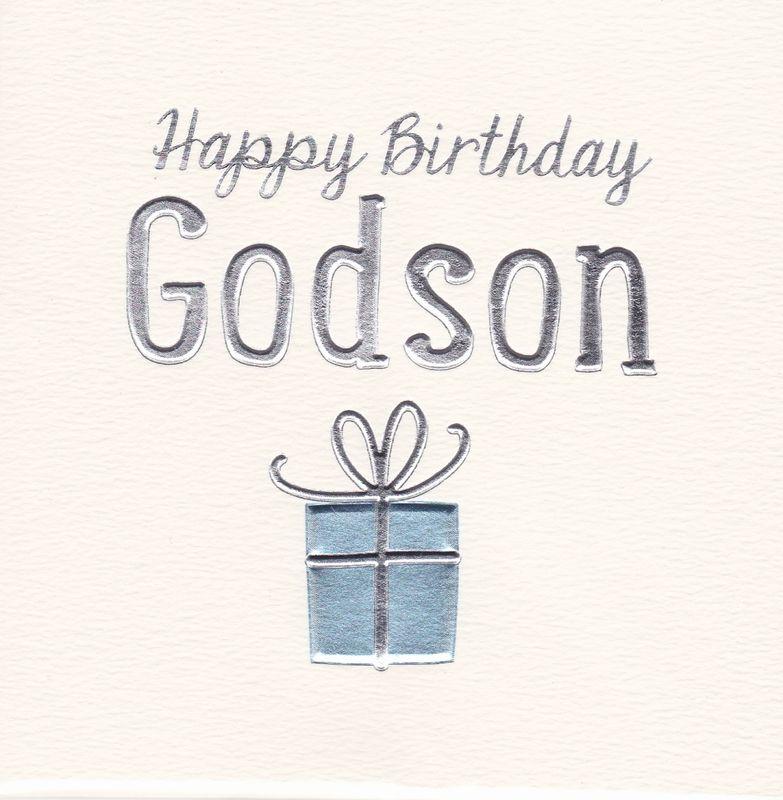 Happy Birthday Godson Birthday Card
