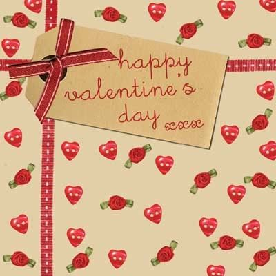 handmade roses hearts valentines day card product images - Online Valentines Day Cards